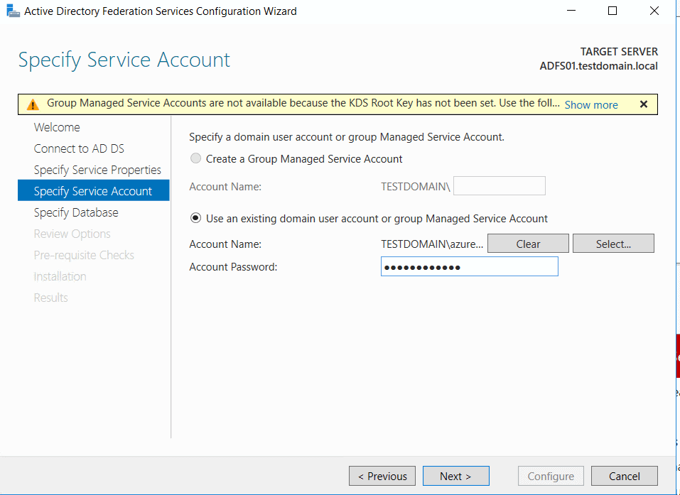 How to setup an ADFS Farm 2016 in Azure/AWS/Google IaaS