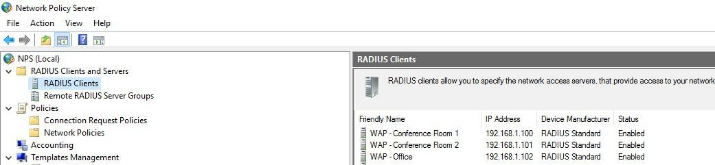 How to Setup RADIUS Server 2016 in Azure for Wireless