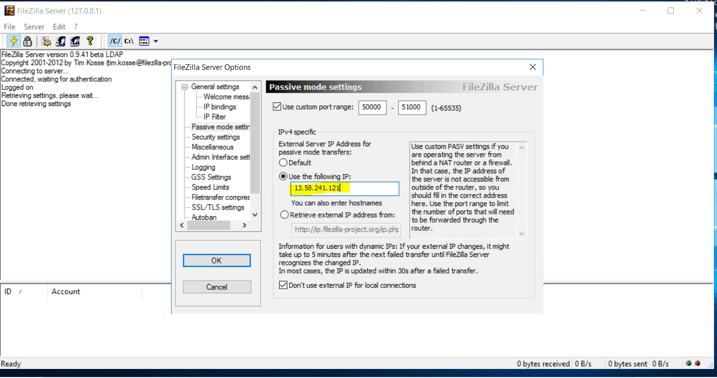 FTP-Passive-mode