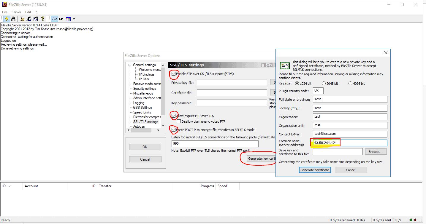 FTP-SSL-Certificate