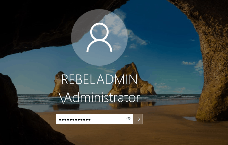 domain-administrator-login