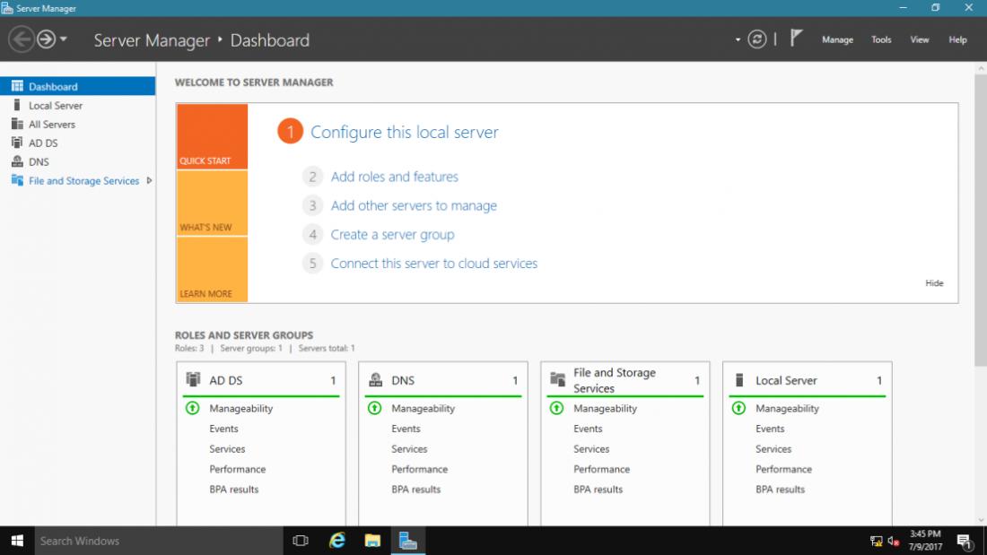 Azure NFS server