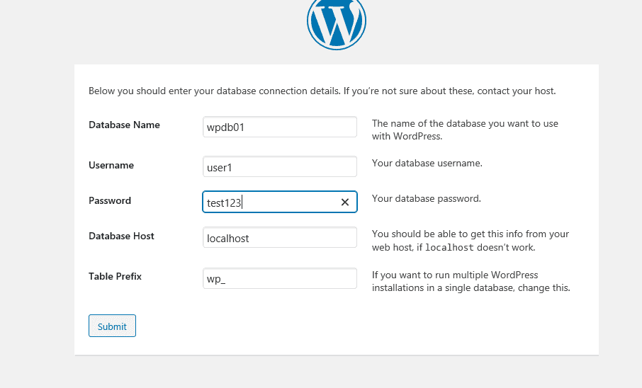 install wordpress on GCP