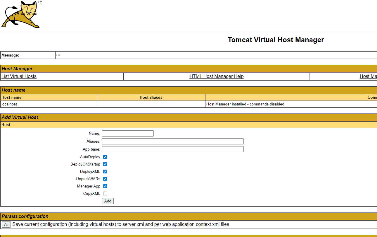 virtual-host-manager