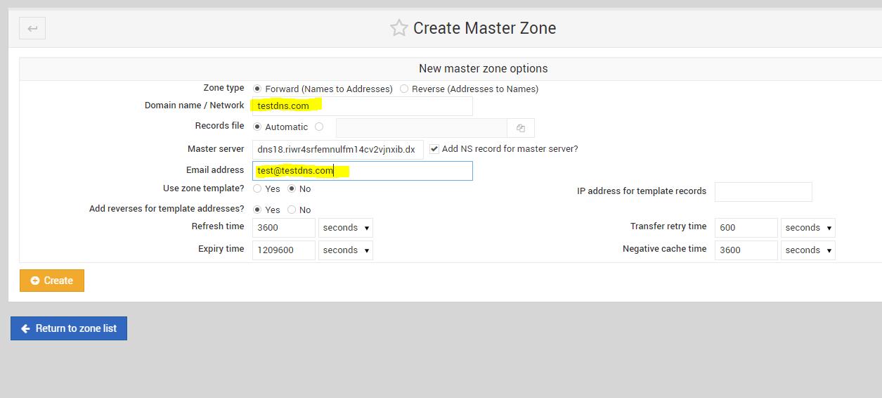 create-master-zone