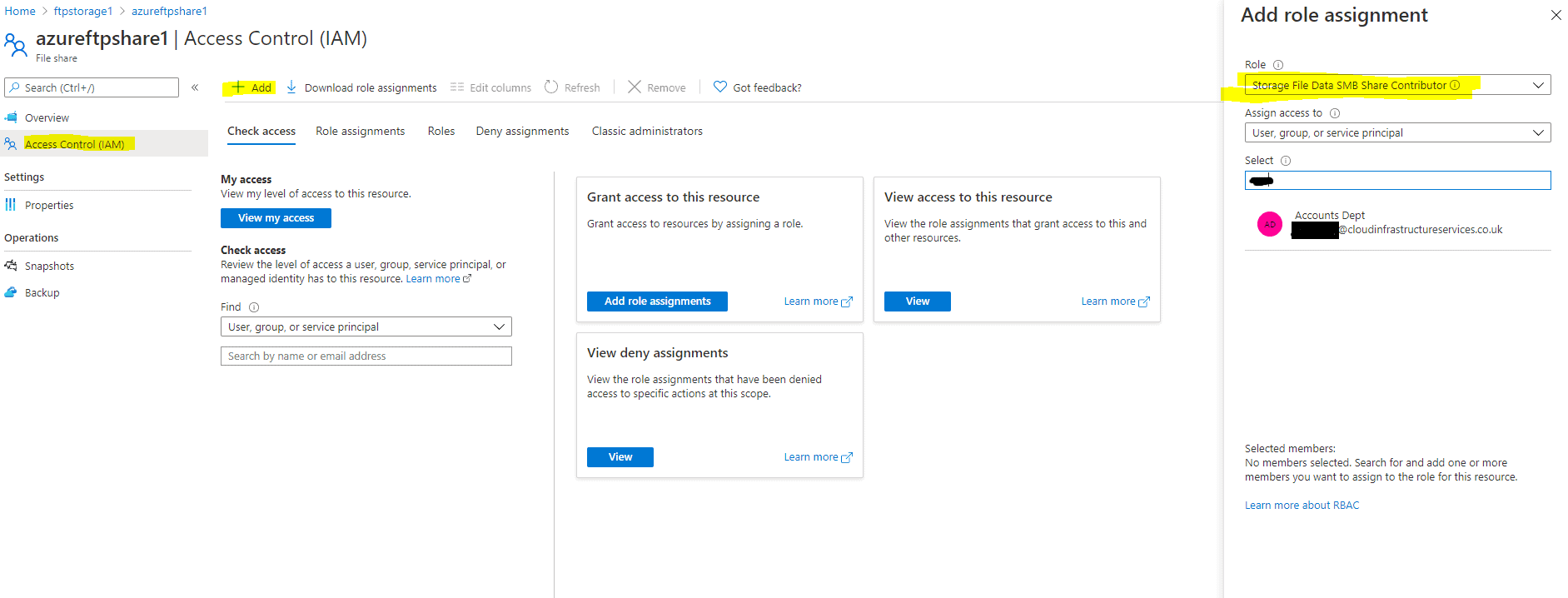 Azure-RBAC-FTP-Users