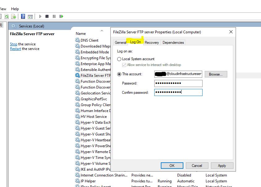 Set-Service-Account