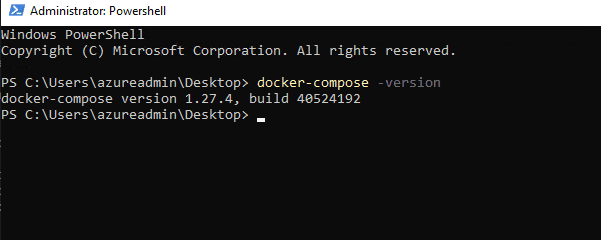 Docker-Compose-Version