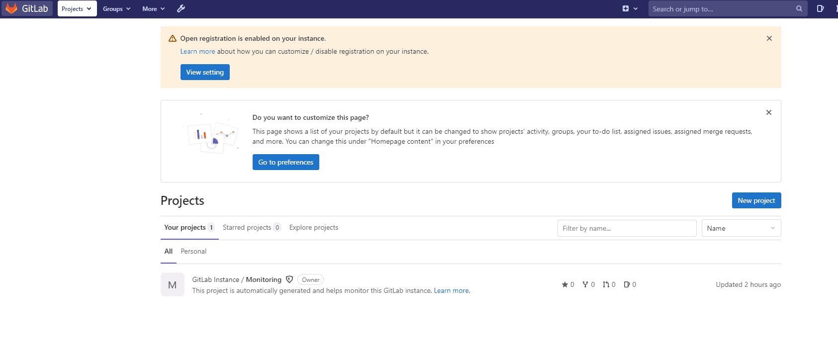 Gitlab-portal
