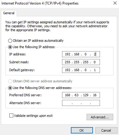 Guest-IP-Settings