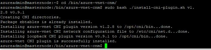 run-azure-cni-install-script