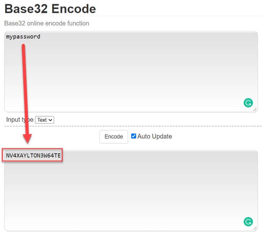 magento base-32-encode